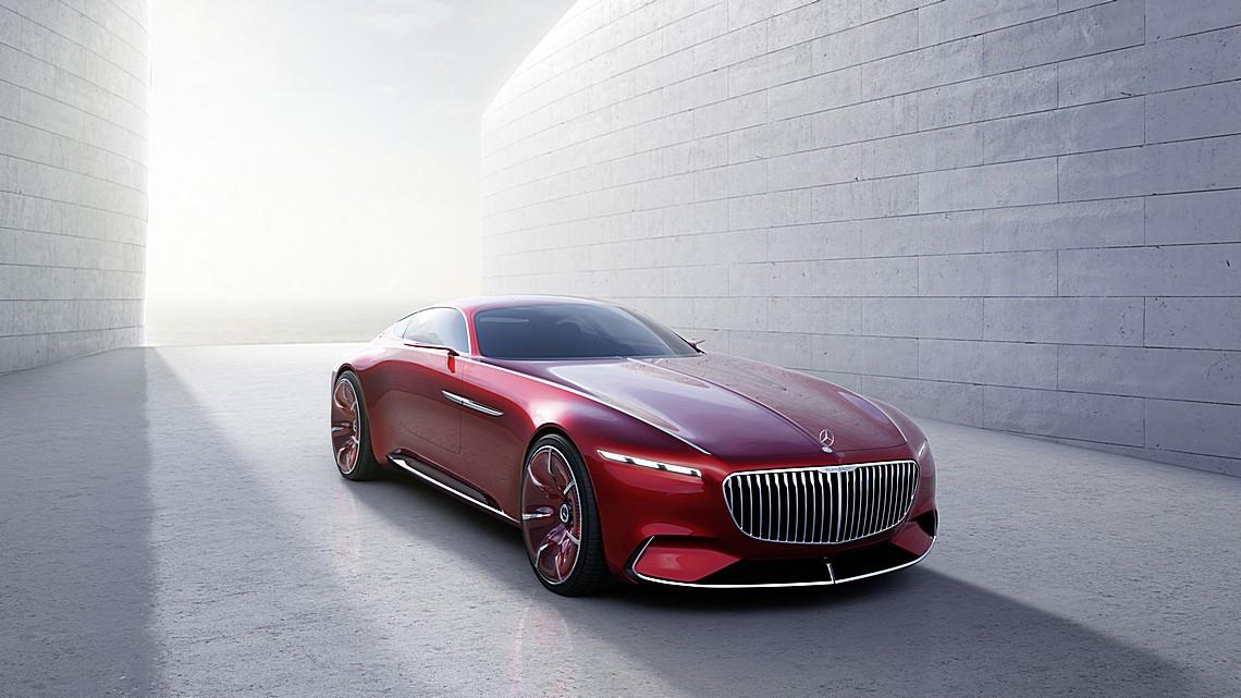 Mercedes Maybach 6 Concept 1
