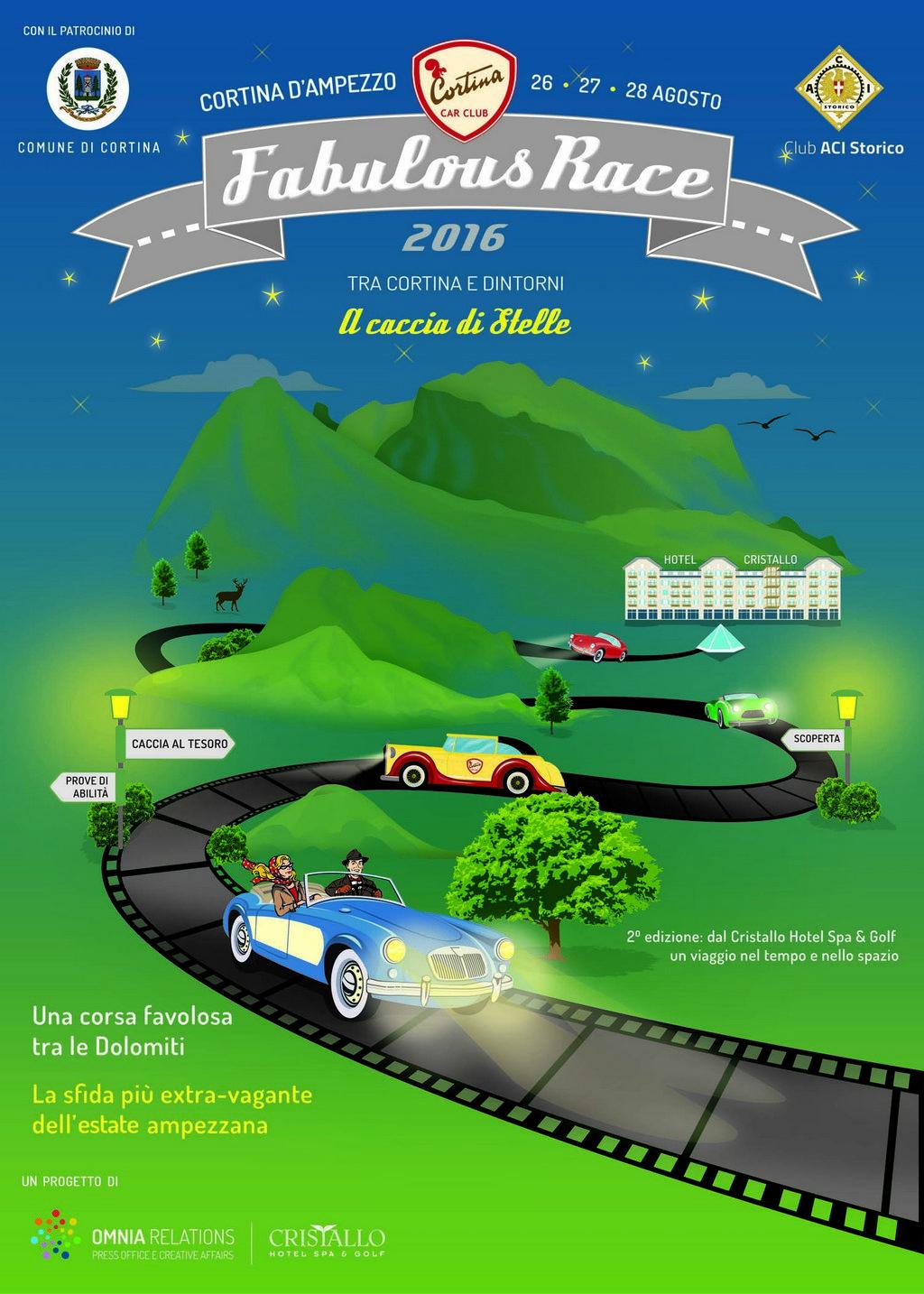 Cortina Fabulous Race 2016 Locandina