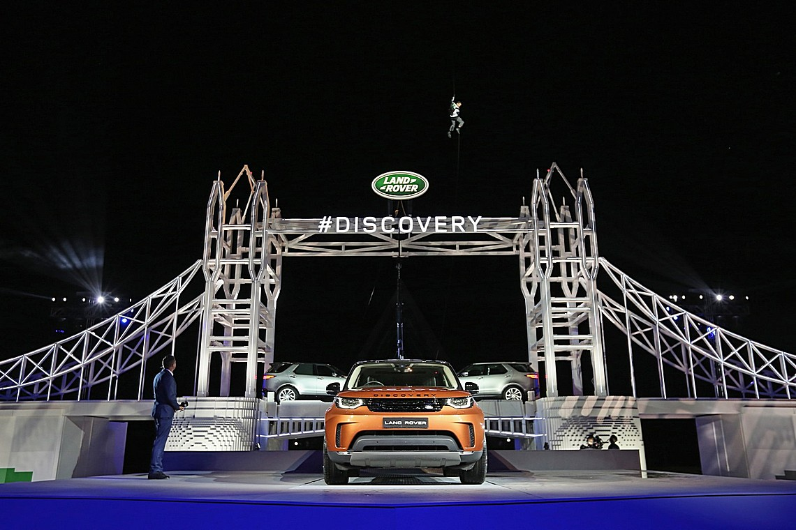 Nuova Land Rover Discovery Lego