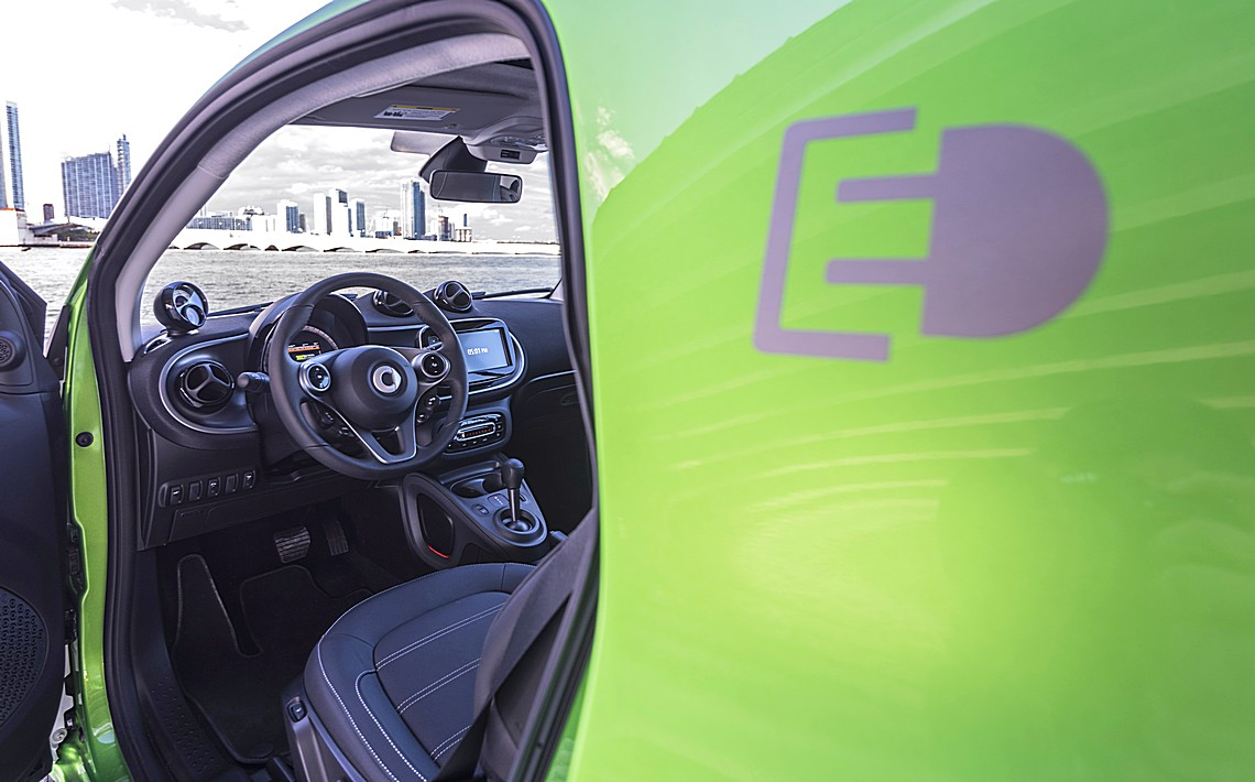 smart forfour electricdrive 13