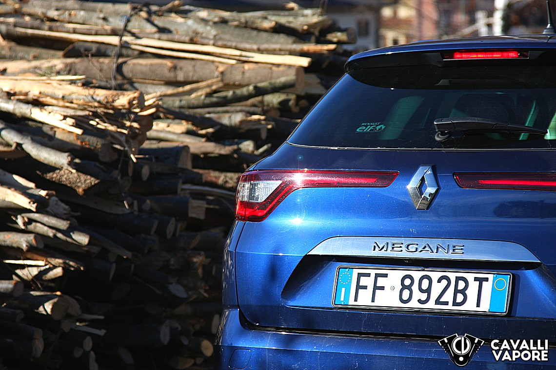 Renault Megane Sporter Intens Prova su Strada 8