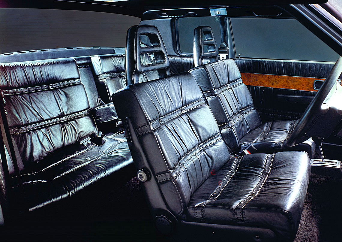 Volvo 262C Interni