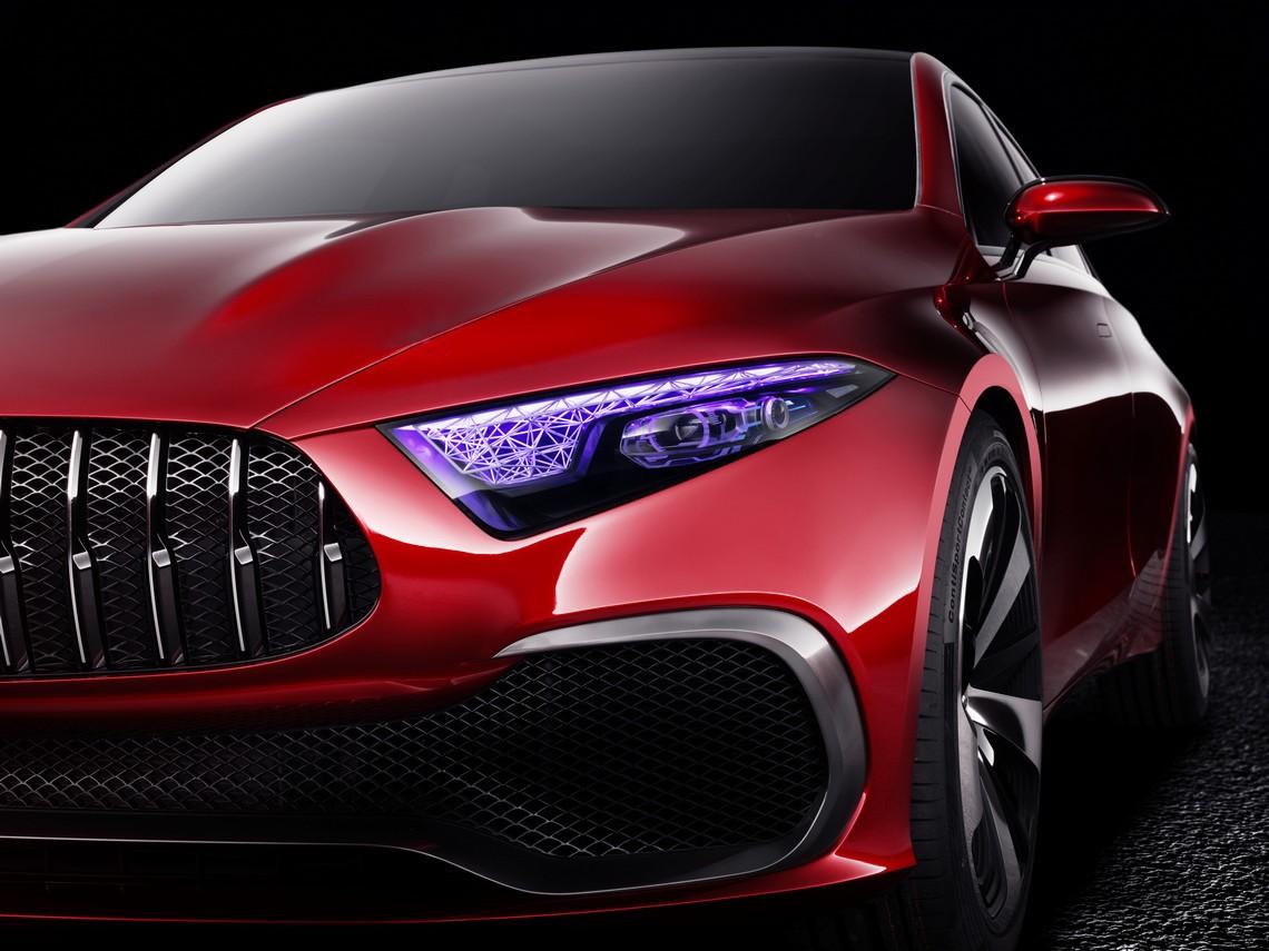 Mercedes Concept A Sedan 10