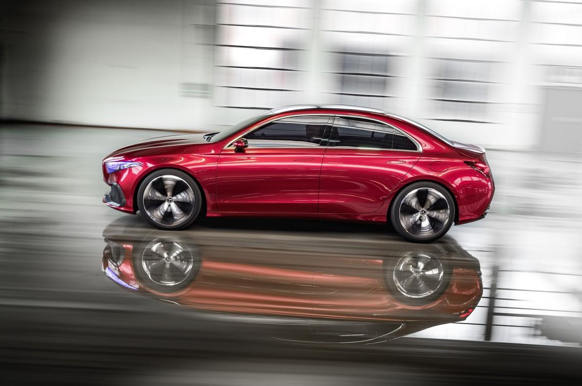 Mercedes Concept A Sedan 3