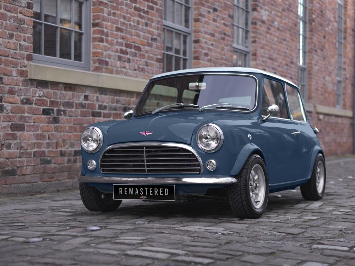 Mini Remastered by David Brown Automotive Tre Quarti