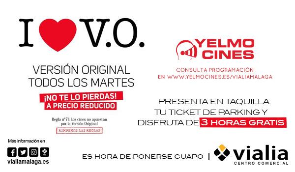 ¡Todos los martes VOSE en nuestro Yelmo Cines!