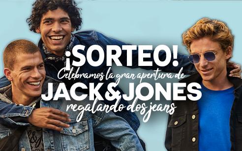 ¡Sorteo vaquero! Celebra la apertura del nuevo local Jack & Jones y ¡gana un jean!