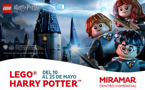 Miramar se llena de magia con el evento… ¡LEGO Harry Potter!