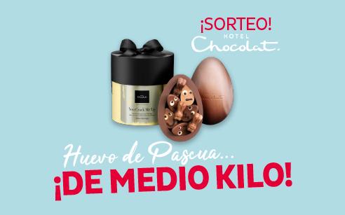 Participa en nuestro SORTEO DE PASCUA y… ¡llévate un huevo de chocolate de medio kilo con sorpresa!