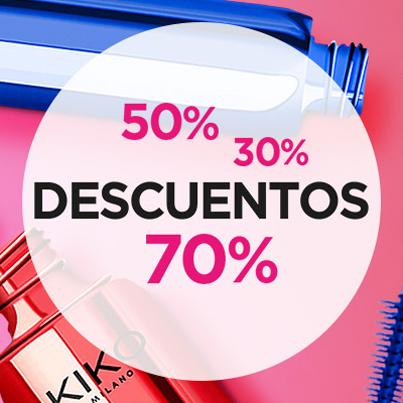 KIKO: DISCOUNTS UP TO 70%
