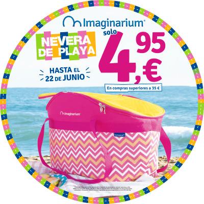 ¡Llévate una nevera de playa en Imaginarium!