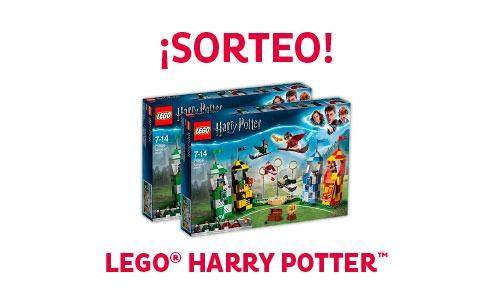SORTEO LEGO® HARRY POTTER Participa, gana una caja exclusiva de figuras LEGO® y recrea tus escenas favoritas de Harry Potter