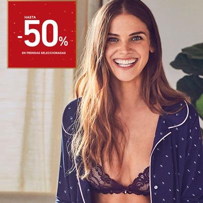WOMEN'SECRET: 50% DE DESCUENTO