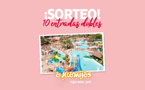 ¡Nos encanta AquaMijas! Sorteamos 10 entradas dobles para el mejor parque acuático