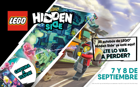 ¡La gira internacional LEGO® Hidden Side™ aterriza en Miramar!