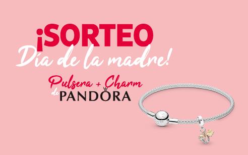 Participa en nuestro SORTEO del Día de la Madre y… ¡GANA una Pulsera de Pandora con un Charm único!