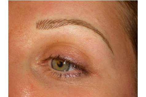Natural look eye brow tattooing at swan house for Natural eyebrow tattoo