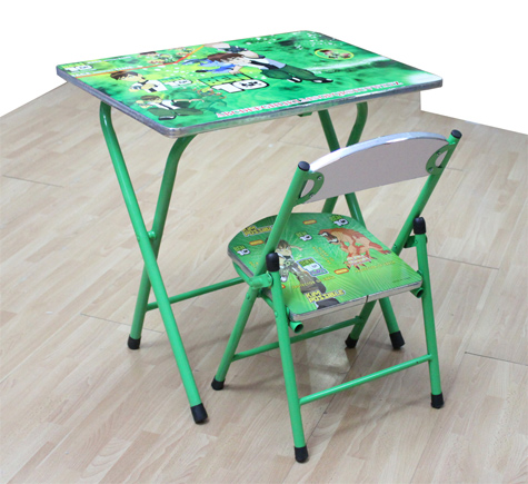 Table And Chair Set. ➤. Children Folding Study ...