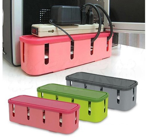 Home office desk mini cable organizer - Desk cord organizer ...