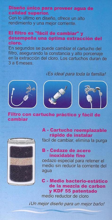 aqua care shower filter pro 6000. Black Bedroom Furniture Sets. Home Design Ideas