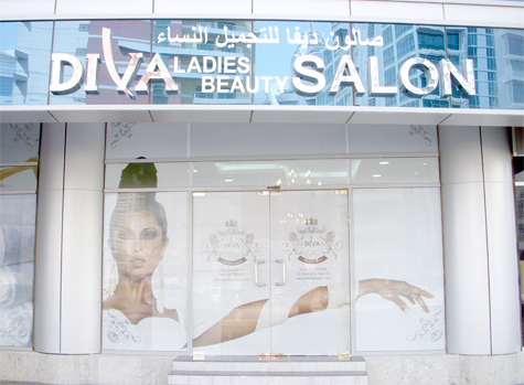 Unwind with a massage dead sea body scrub for Adiva beauty salon