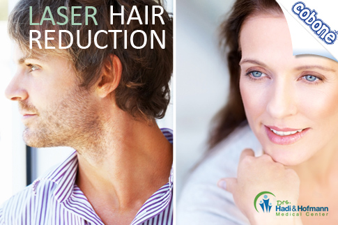 Reduce the appearance of undesired hair with 3 laser sessions for '1 small area' of your body for AED 216 from Drs. Hadi and Hofmann Medical Centre. Also available for medium and large areas or full body!
