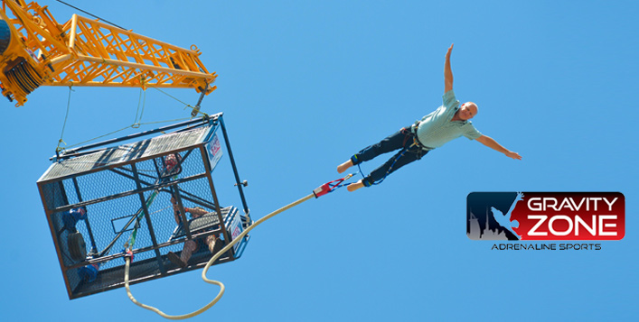 Single or Tandem Bungee Jump