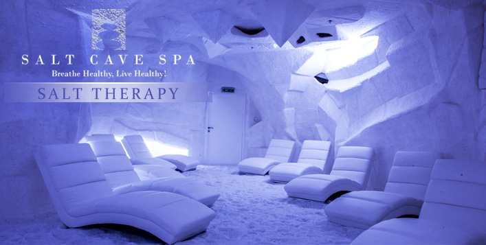 Relax for 45 mins in the Salt Cave Spa