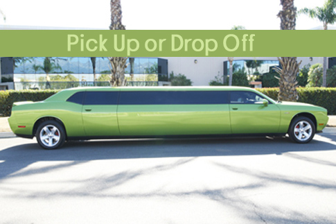 Travel around the city while partying with your friends with a 1 hour ride in a Green Dodge Limousine for up to 9 people for just AED 299