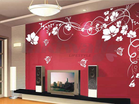 spice up your home with a wall sticker | cobone