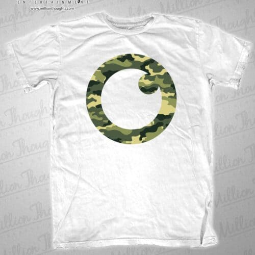 White Tee_Green Logo