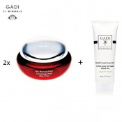 2x Gadi 21 Minerals Bio Thermal Pore Cleansing Mask+ Free Gift Gadi 21 Minerals Travel Hand Cream