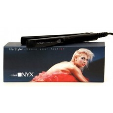 Herstyler Mini Onyx Angled Mini Hair Straightener