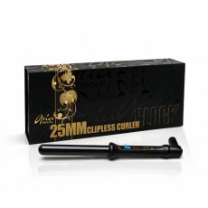 Aria Beauty Curler Tourmaline 25 mm Black