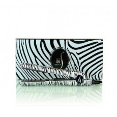 "Herstyler Platinum 1"" Zebra Edition Titanium Hair Straightener"