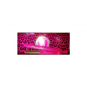 Herstyler Pink Leopard Hair Straightener