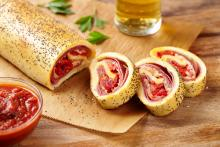 Wewalka - Salami & Cheese Stromboli