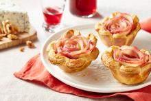 Wewalka - Wine Tinted Apple Rose Tarts