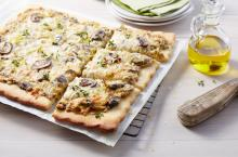 Wewalka - Rustic Mushroom Pizza