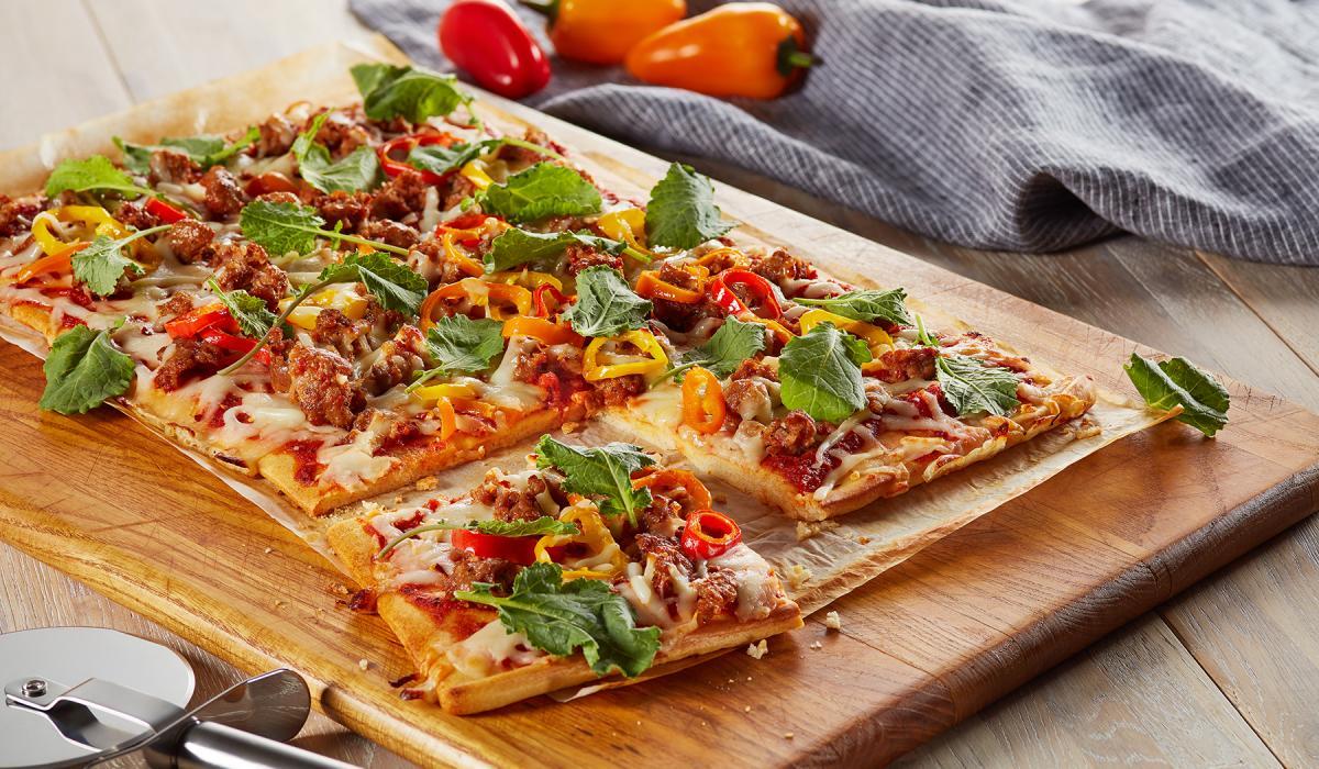 Wewalka Recipe - Spicy Sweet Pepper Pizza
