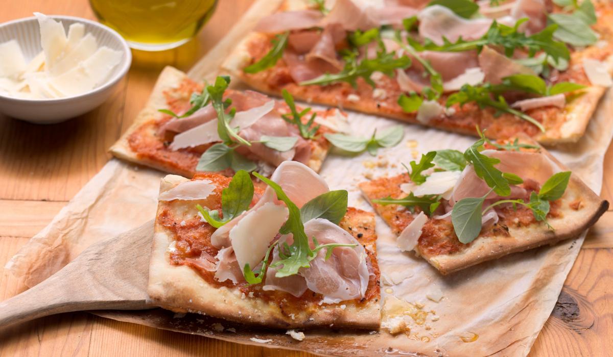 Wewalka Recipe - Pizza Prosciutto