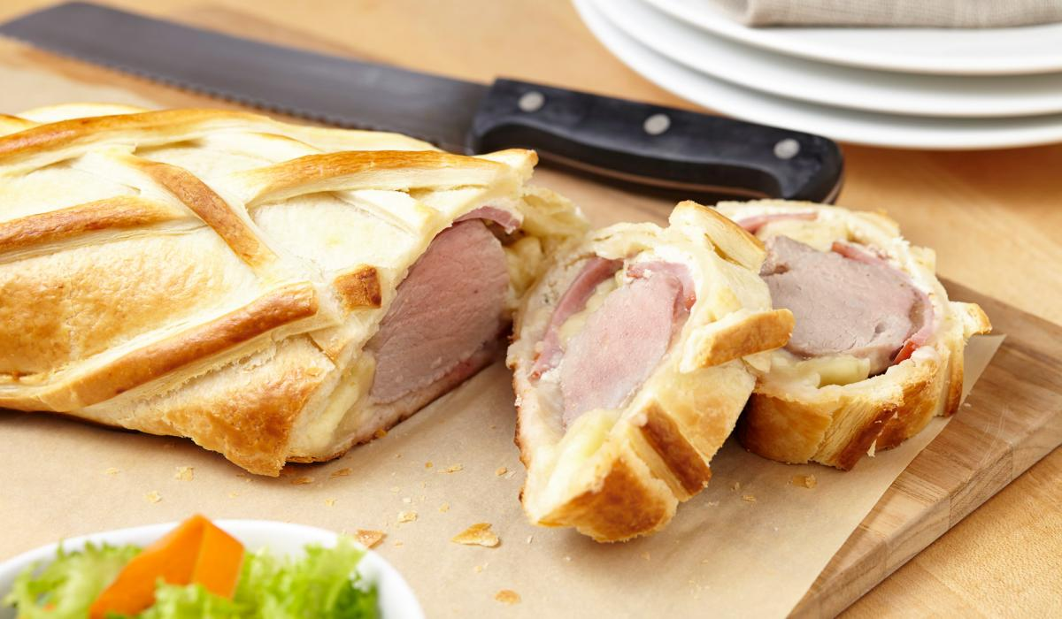 Wewalka Recipe - Pork Tenderloin Cordon Bleu