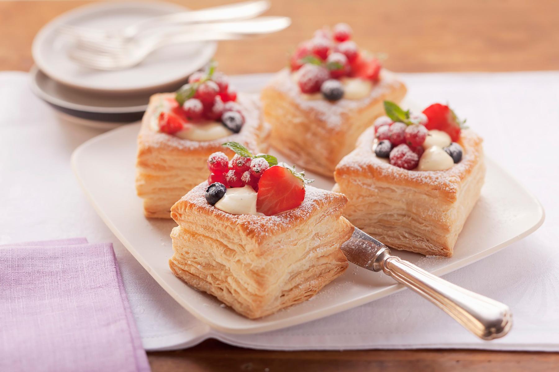 Vanilla Cream Puff Pastry   Wewalka