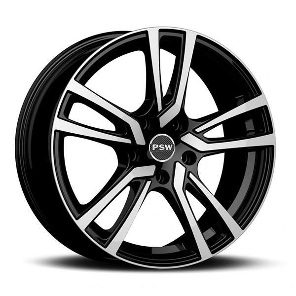 LLANTAS-PSW-NEVADA-MERCEDES-CL-KLASSE-7Jx17-5x112-BLACK-DIAMOND-F6A