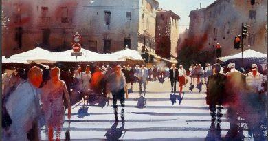 La pintura de los días por Demetrio Reigada: Alvaro Castagnet, o el alma de la acuarela