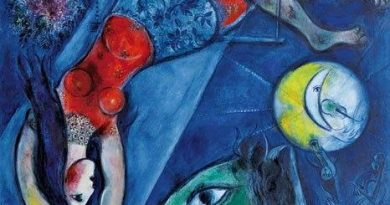 La pintura de los días por Demetrio Reigada: Feliz Dia en el circo de Mark Chagall