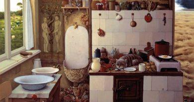 La pintura de los días por Demetrio Reigada: «Entre el paraíso y el infierno», de Jacek Yerka, un viaje al mundo de la magia