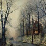 La pintura de los días por Demetrio Reigada: John Atkinson Grimshaw o la luz de la noche