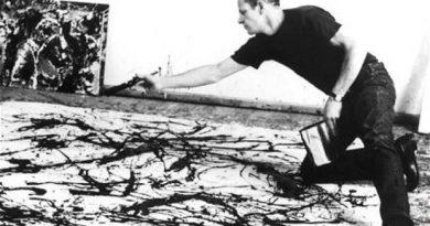 La pintura de los días por Demetrio Reigada: Hoy Jackson Pollock, el Mesías de la «pintura de acción»