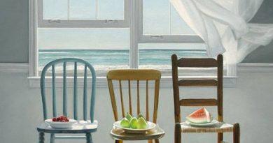 La pintura de los días por Demetrio Reigada: Hoy Karen Hollingsworth o cuando el espectador se siente mejor en el cuadro que en casa